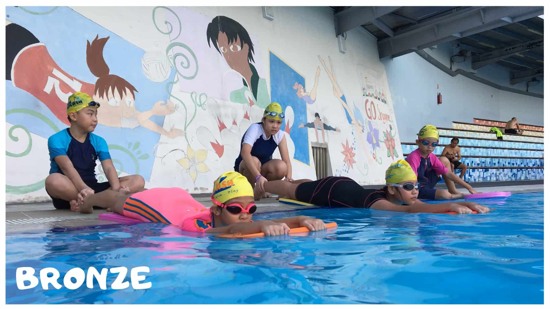 swimming coach for kids singapore