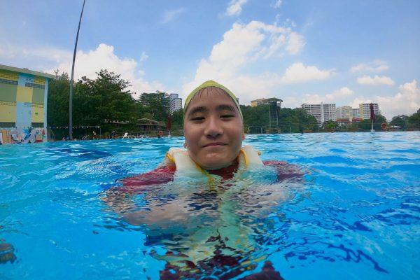 children swimming lessons singapore