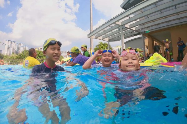 children swimming lessons singapore