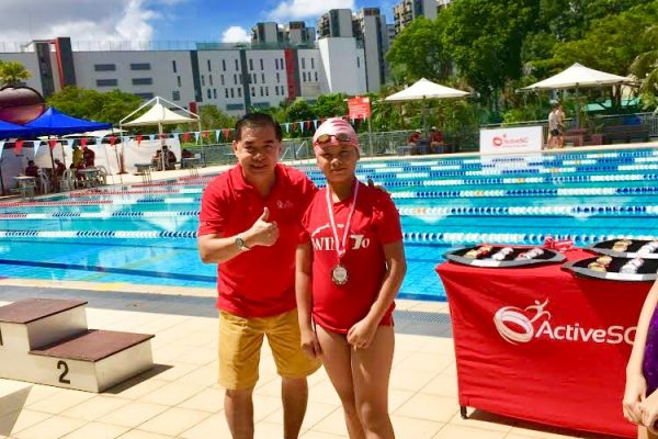 competitive swimming singapore