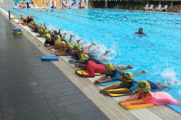 Childrent Swimming Lessons at Senja Cashew