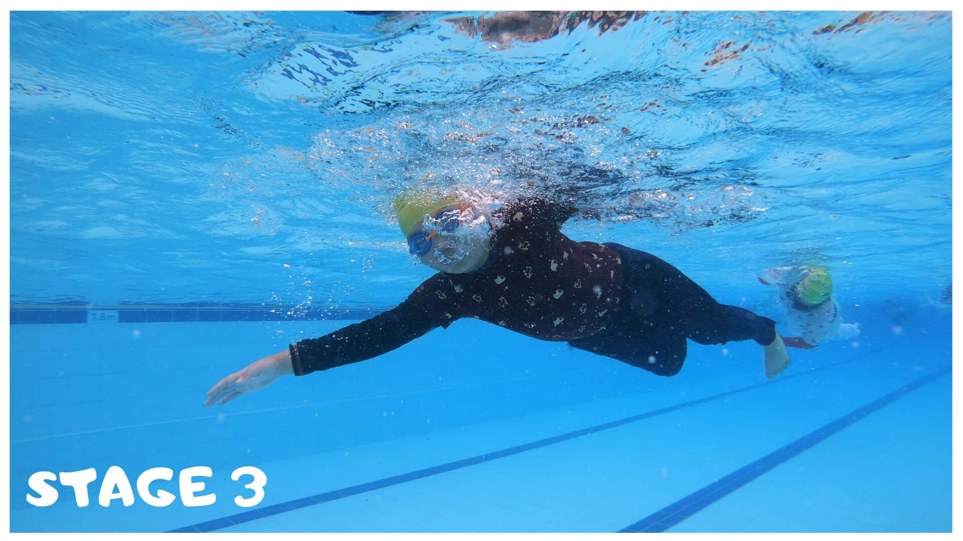 Stage 3 children swimming lessons singapore
